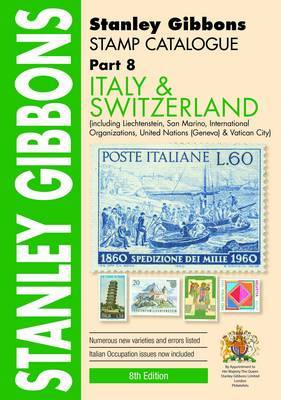Stanley Gibbons Stamp Catalogue Italy and Switzerland