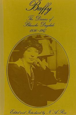 Baffy: The Diaries of Blanche Dugdale, 1936-47