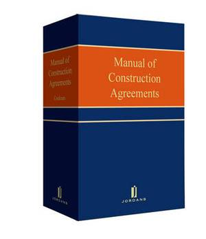 Manual of Construction Agreements