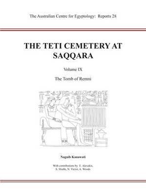The Teti Cemetery at Saqqara, Vol. 9