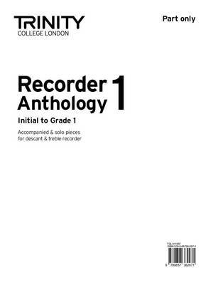 Recorder Anthology (Initial-Grade 1): Book 1: Part Only