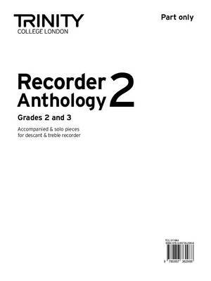 Recorder Anthology (Grades 2-3): Book 2: Part Only