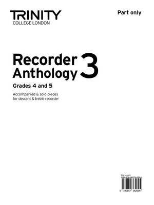 Recorder Anthology (Grades 4-5): Book 4: Part Only