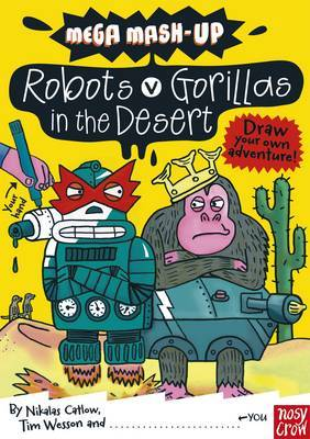 Mega Mash-Up: Robots v Gorillas in the Desert