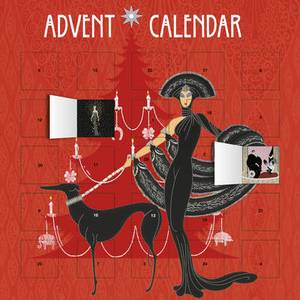 Erte Symphony in Black Advent Calendar