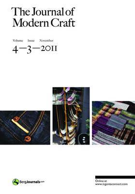 The Journal of Modern Craft:  Volume 4, Issue 3