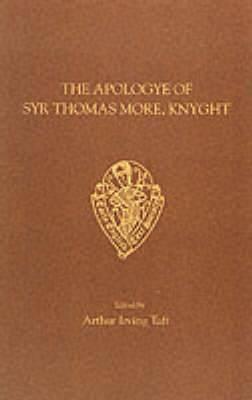 Apologye of Syr Thomas More