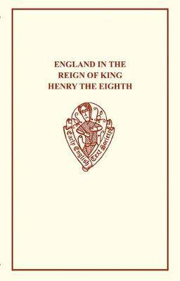 England in the Reign of King Henry VIII