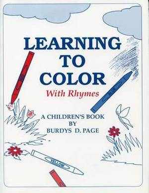 Learning to Color with Ryhmes