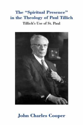 Spiritual Presence in the Theology of Paul Tillich