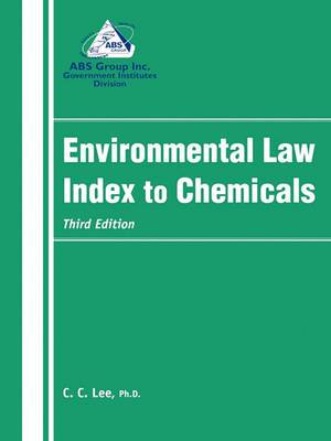 Environmental Law Index to Chemicals