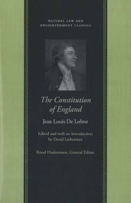 Constitution of England: Or, an Account of the English Government