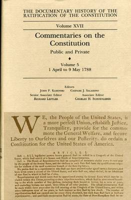 Commentaries on the Constitution Vol 5
