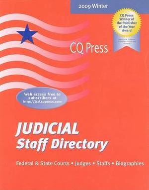 Judicial Staff Directory 2009/Winter
