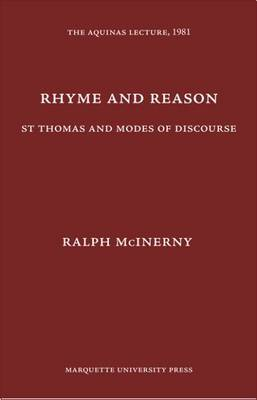 Rhyme and Reason: St. Thomas and Modes of Discourse