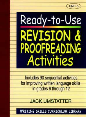 Ready to Use Revision and Proofreading Activities: v. 5