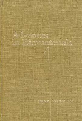 Advances in Biomaterials: Vol 1