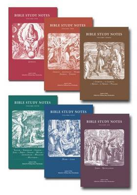 Bible Study Notes 6-Volume Set