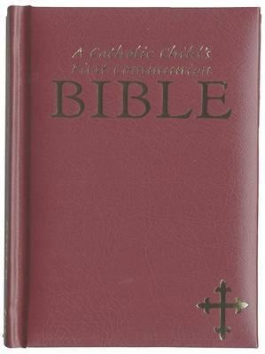 A Catholic Child's First Communion Bible