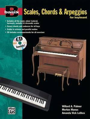 Basix Scales, Chords and Arpeggios for Keyboard: Book & CD