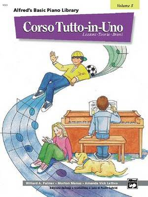 Alfred's Basic All-In-One Course, Bk 5: Italian Language Edition