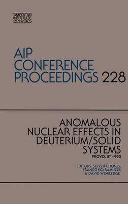 Anomalous Nuclear Effects in Deuterium / Solid System
