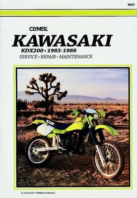 Kawasaki KDX200 1983-88: Clymer Workshop Manual