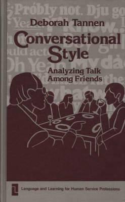 Conversational Style: Analysing Talk Among Friends