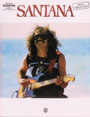 Santana: Authentic Guitar Tab