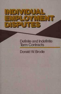 Individual Employment Disputes: Definite and Indefinite Term Contracts