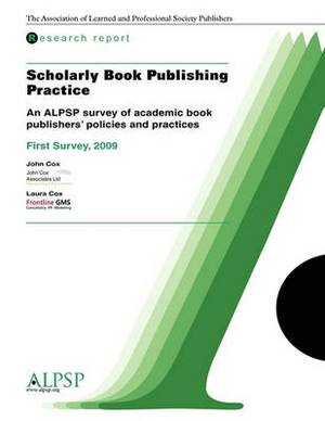 Scholarly Book Publishing Practice