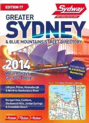 Sydway Greater Sydney and Blue Mountains Street Directory 2014
