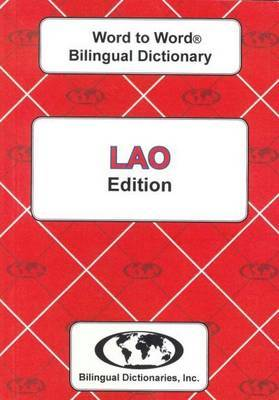English-Lao & Lao-English Word-to-Word Dictionary: Suitable for Exams