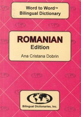 English-Romanian & Romanian-English Word-to-Word Dictionary: Suitable for Exams