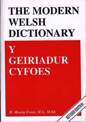 Geiriadur Cyfoes, Y / Modern Welsh Dictionary, The