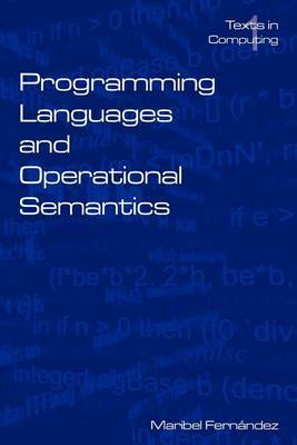 Programming Languages and Operational Semantics: An Introduction