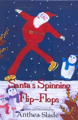 Santa's Spinning Flip-flops