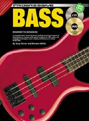 Progressive Bass Guitar: For Beginner to Advanced Students: CD Pack