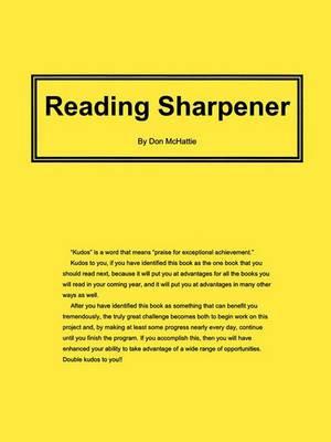 Reading Sharpener