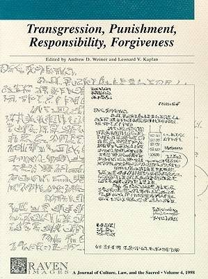 Transgression Punishment Responsibility Forgive