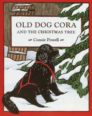 Old Dog Cora and the Christmas Tree