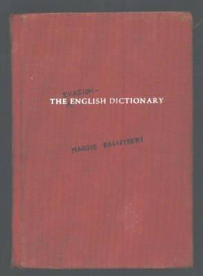 The Evasion-English Dictionary