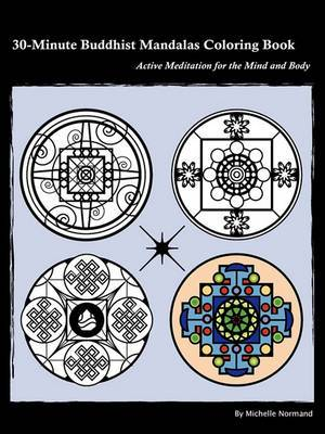30-Minute Buddhist Mandalas Coloring Book