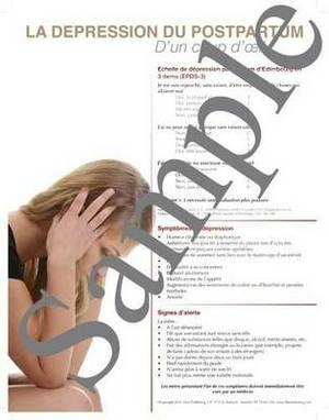 Postpartum Depression at a Glance Poster