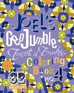 Joel's Geojumble Twist & Tumble Coloring Book, No.4