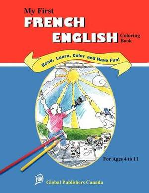 My First French-English Coloring Book