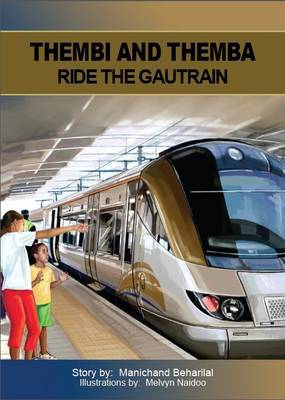 Thembi and Themba ride the Gautrain