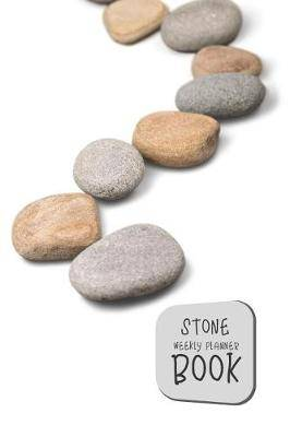 Stone Weekly Planner Book: Rocks No.5 6x9 2 Years 104 Weeks Checklist Planning Undated Organizer / Calendar / Notebook / Journal
