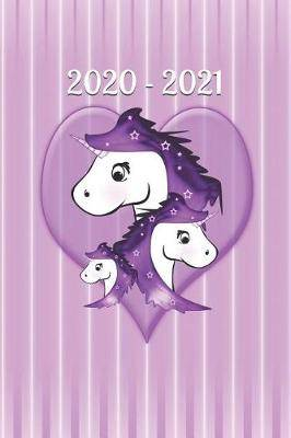 2020 - 2021: Horse - Man - Woman - Calendar - two years - month - days - addresses - notes - lined - blank