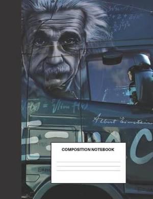 Composition Notebook: Einstein's Got An Eye On You